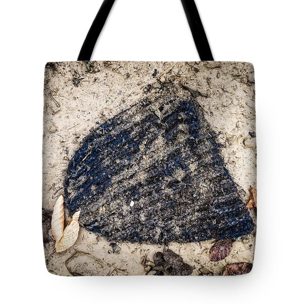 Old Forgotten Wool Cap Lying On The Ground Tote Bag by Matthias Hauser