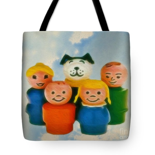 Old Friends  Tote Bag by Cheryl Young