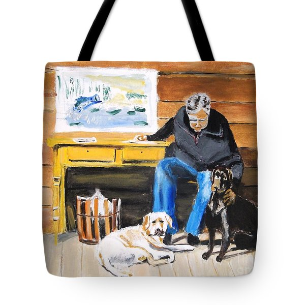 Old Friends Tote Bag by Judy Kay
