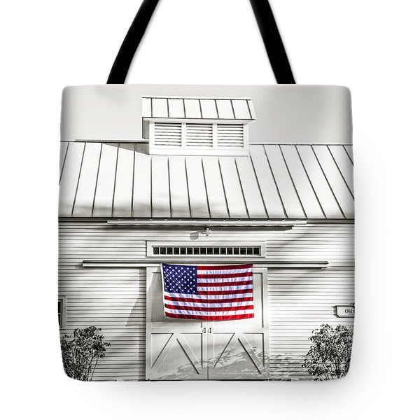 Old Glory Circa 1776 Tote Bag by Edward Fielding