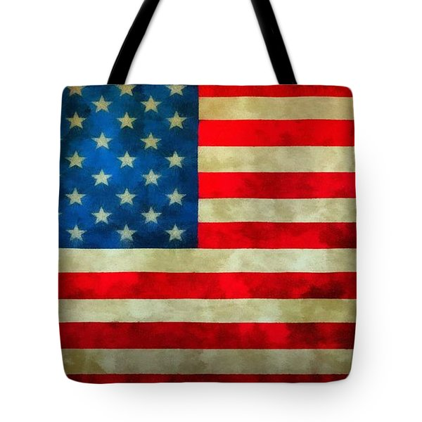 Old Glory Tote Bag by Dan Sproul
