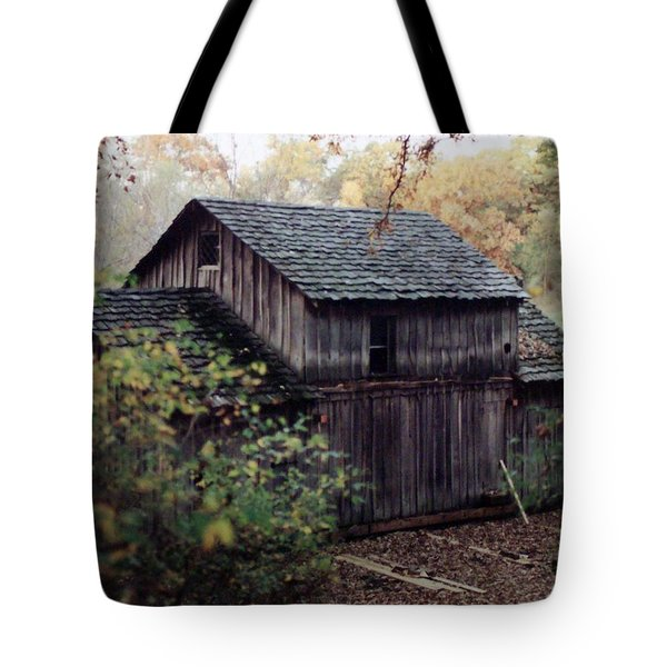 Old Grist Mill Tote Bag by Thomas Woolworth