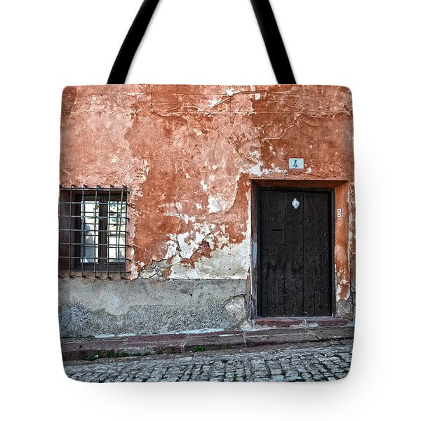 Old house over cobbled ground Tote Bag by RicardMN Photography
