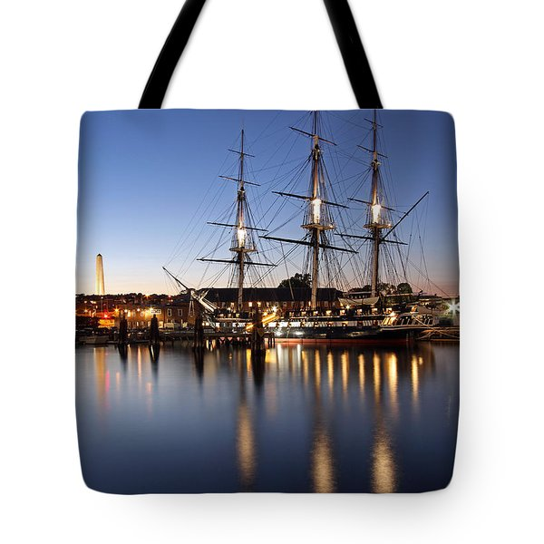 Old Ironsides Tote Bag by Juergen Roth