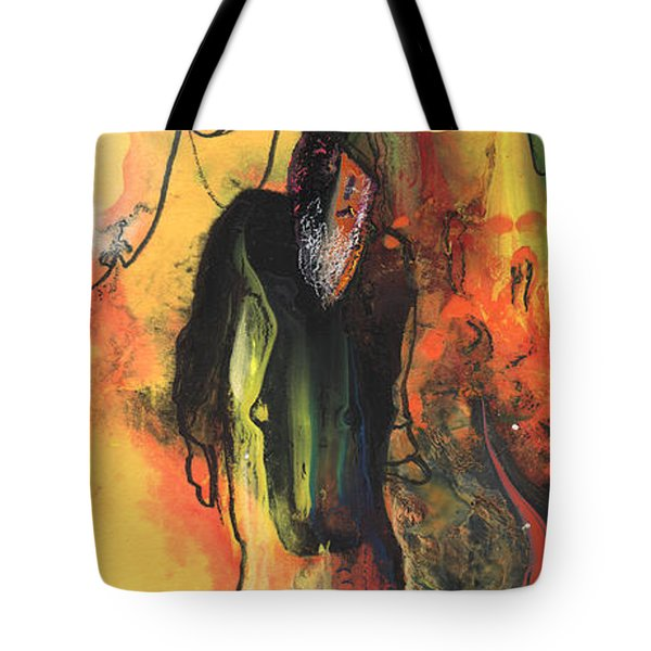 Old Man In Morocco Tote Bag by Miki De Goodaboom