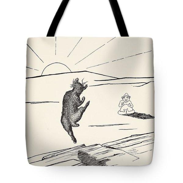 Old Man Kangaroo Tote Bag by Rudyard Kipling
