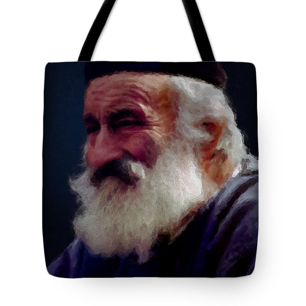 Old Man Of The Mountain Tote Bag by Ron Jones
