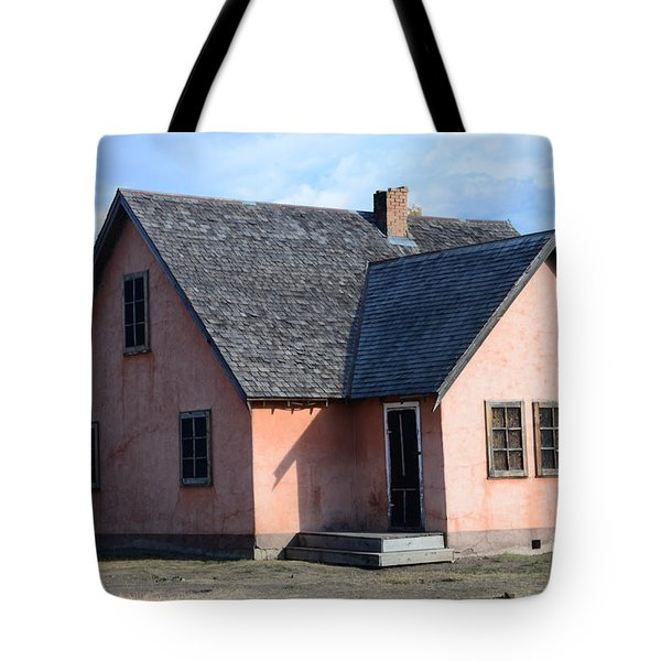 Old Mormon Home Tote Bag by Kathleen Struckle
