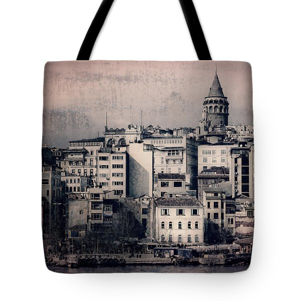 Old New District Tote Bag by Joan Carroll