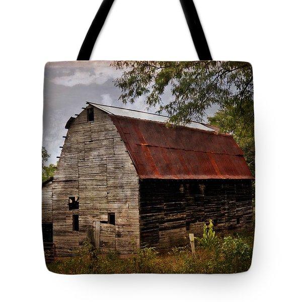 Old Oak Barn Tote Bag by Marty Koch