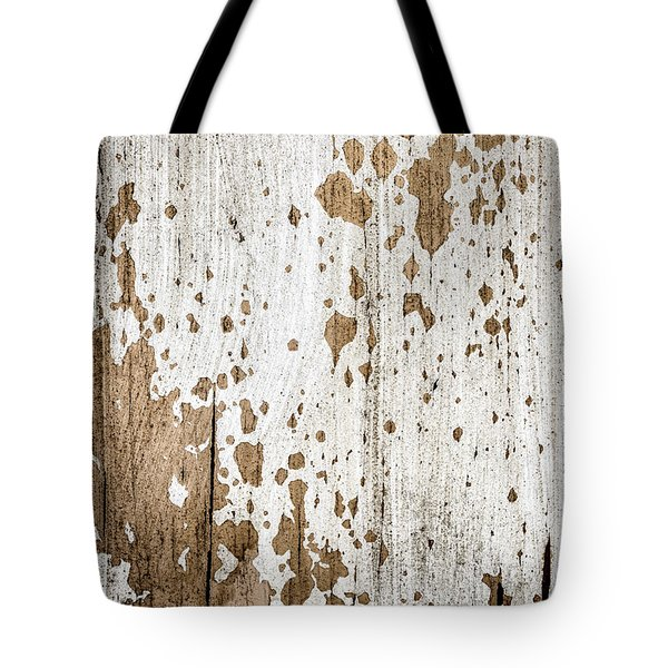 Old Painted Wood Abstract No.3 Tote Bag by Elena Elisseeva