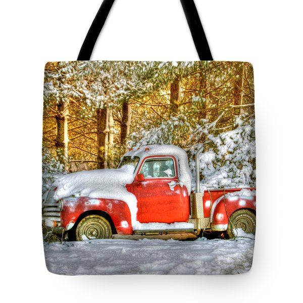 Old Red Tote Bag by Benanne Stiens