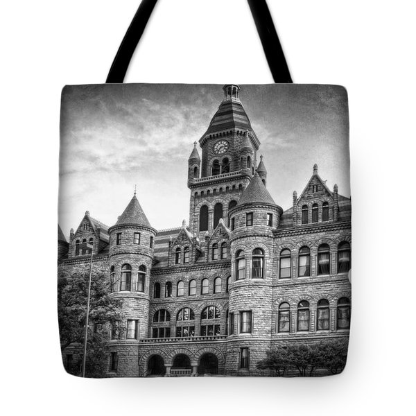 Old Red Monochrome Tote Bag by Joan Carroll