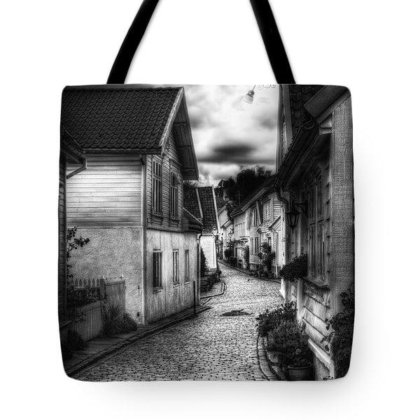 Old Stavanger Part II Tote Bag by Erik Brede