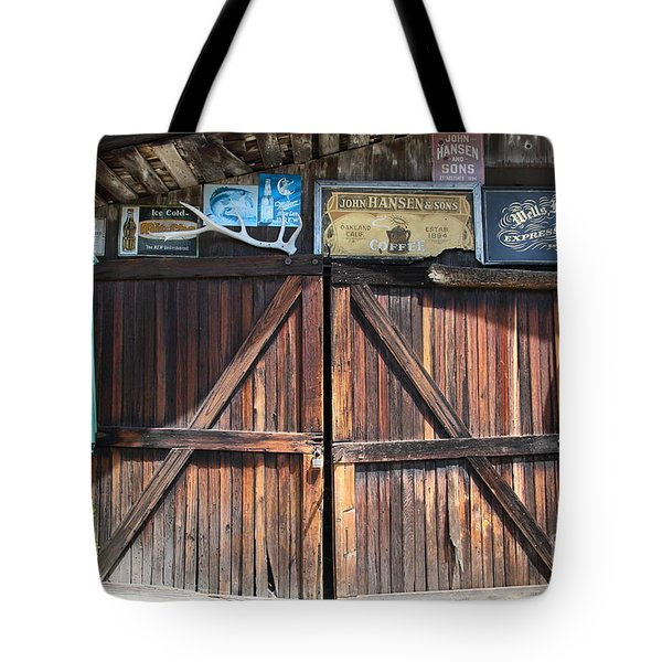 Old Storage Shed At the Swiss Hotel Sonoma California 5D24457 Tote Bag by Wingsdomain Art and Photography