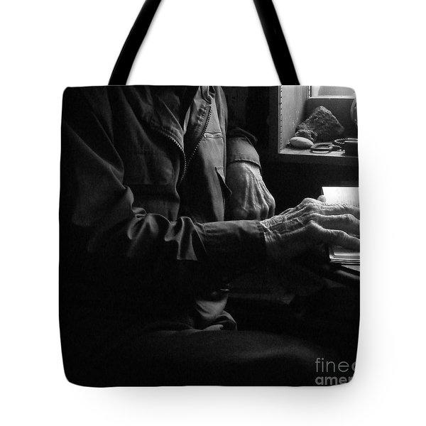 Old Testament Wisdom Tote Bag by Joe Jake Pratt