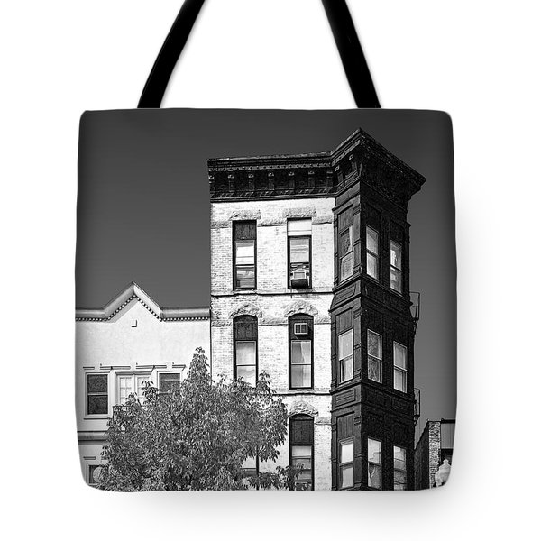 Old Town Chicago - The Second City Tote Bag by Christine Till