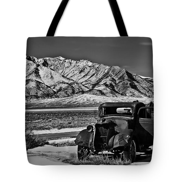 Old Truck Tote Bag by Robert Bales