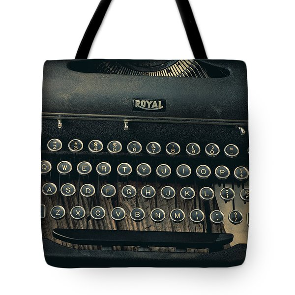 Old Typewriter With Letter Tote Bag by Garry Gay