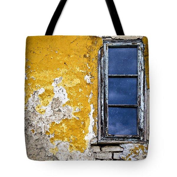 Old Wall In Serbia Tote Bag by Elena Elisseeva