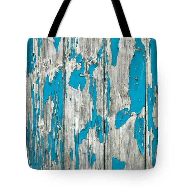 Old wood Tote Bag by Tom Gowanlock