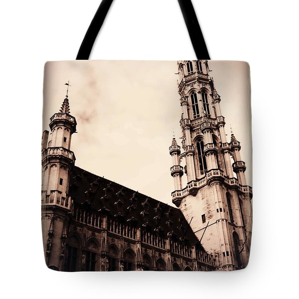 Old World Grand Place Tote Bag by Carol Groenen