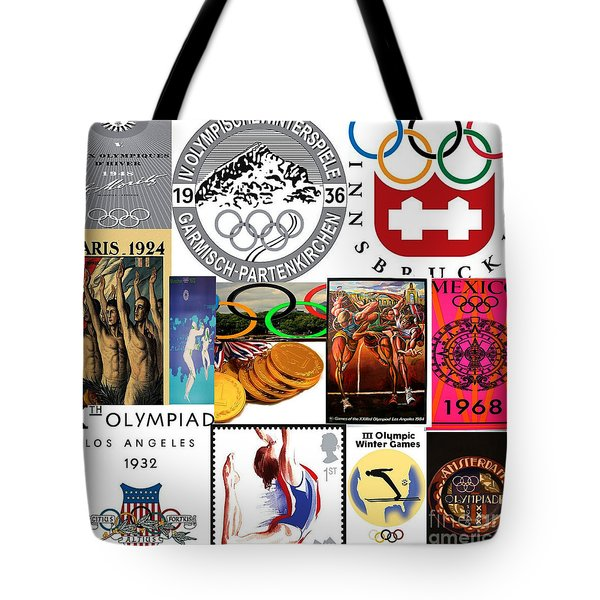 Olympic Memories Tote Bag by M and L Creations