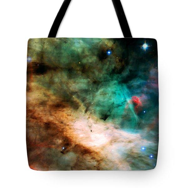 Omega Swan Nebula 2 Tote Bag by Jennifer Rondinelli Reilly - Fine Art Photography