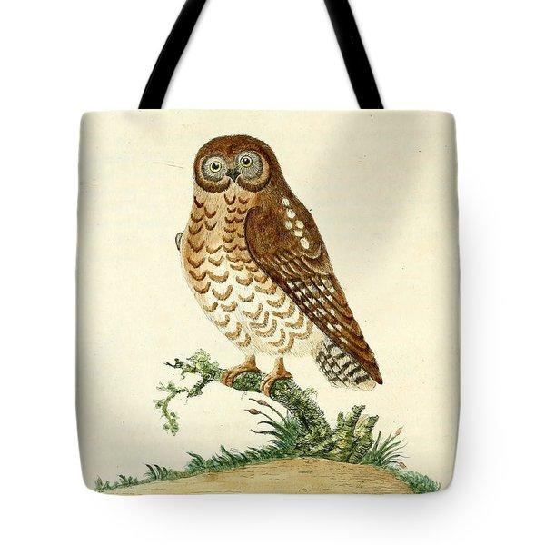 Ominous Owl Tote Bag by John Latham