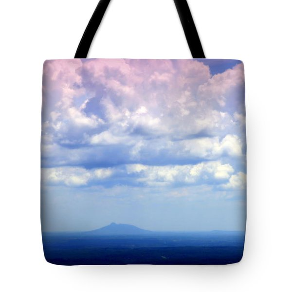 ON A CLEAR DAY Tote Bag by KAREN WILES