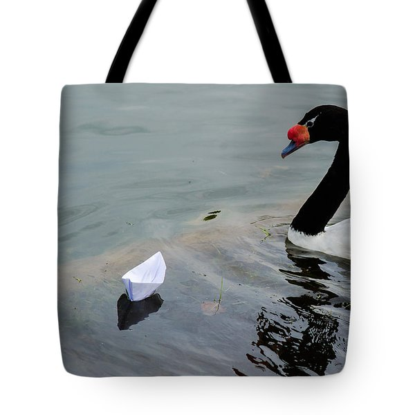 On Converging Course - Featured 3 Tote Bag by Alexander Senin