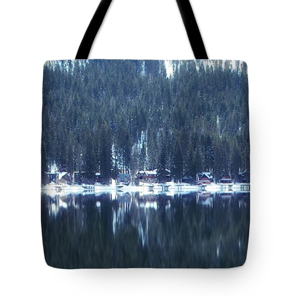 On Donner Tote Bag by Donna Blackhall