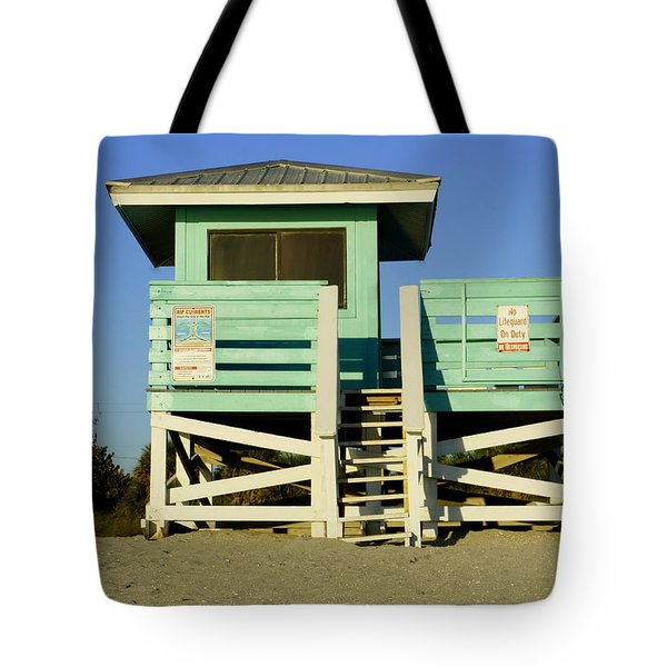 On Duty Tote Bag by Laurie Perry