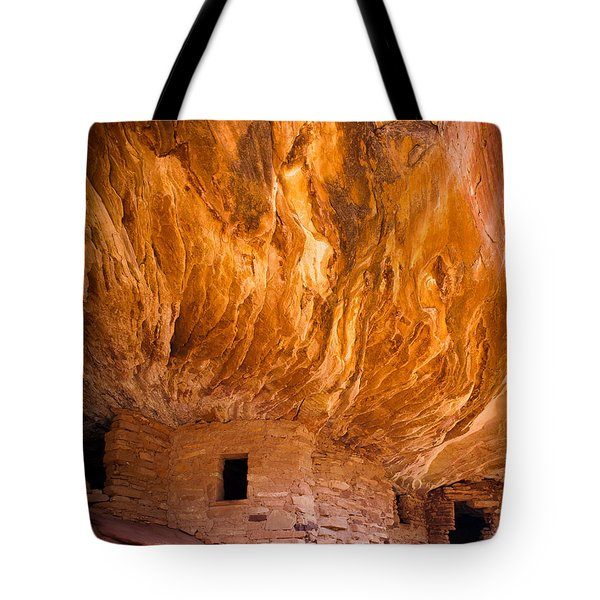 On Fire Tote Bag by Inge Johnsson