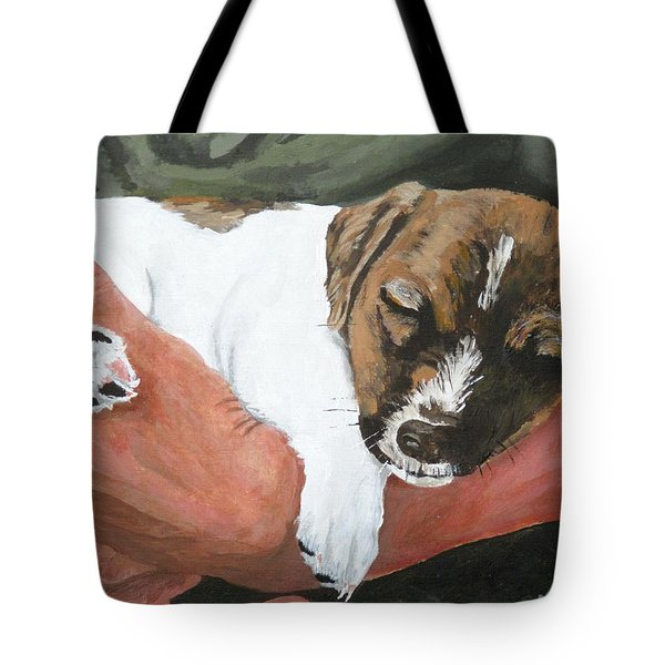 on guard Tote Bag by Michael Dillon