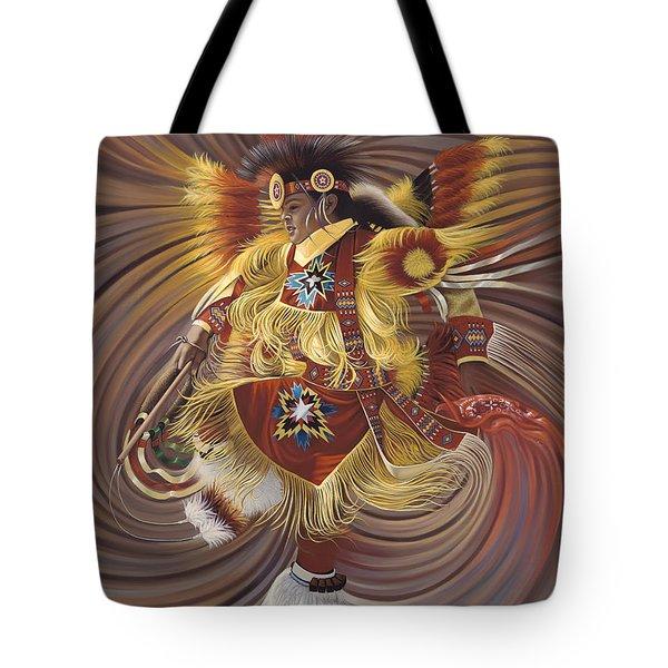On Sacred Ground Series 4 Tote Bag by Ricardo Chavez-Mendez