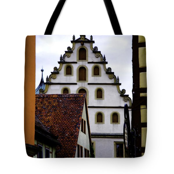 On Shapes And Colors Tote Bag by Joanna Madloch