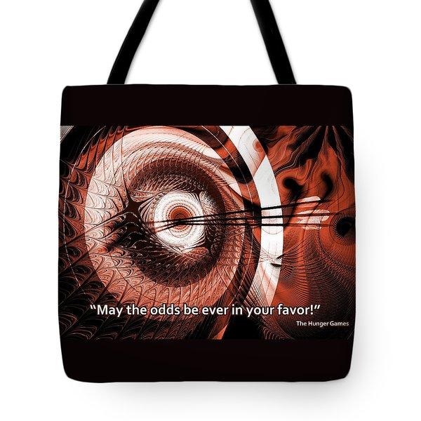 On Target Tote Bag by Anastasiya Malakhova