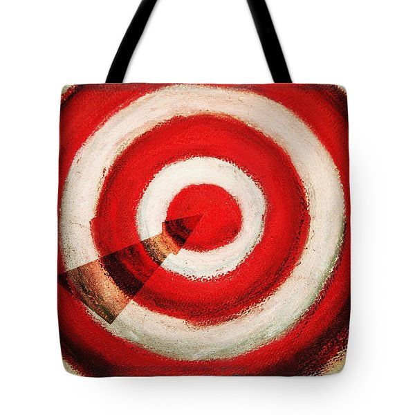 On Target Tote Bag by Don Hammond