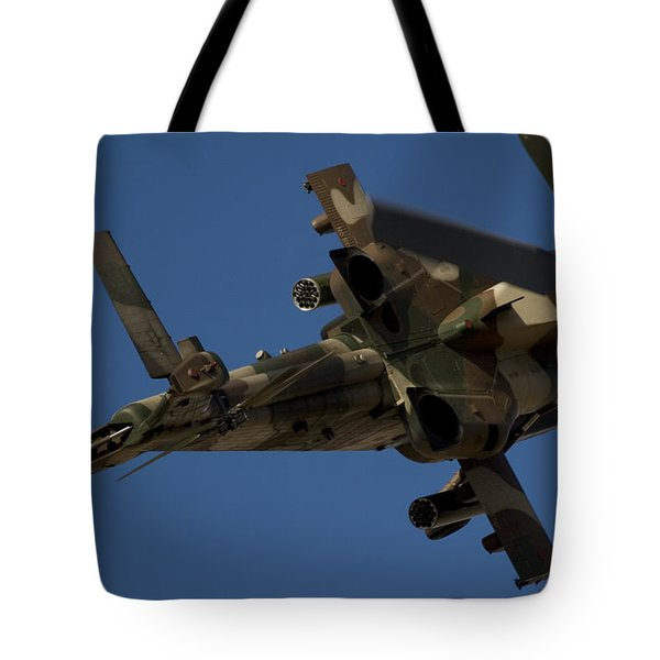 On The Attack II Tote Bag by Paul Job