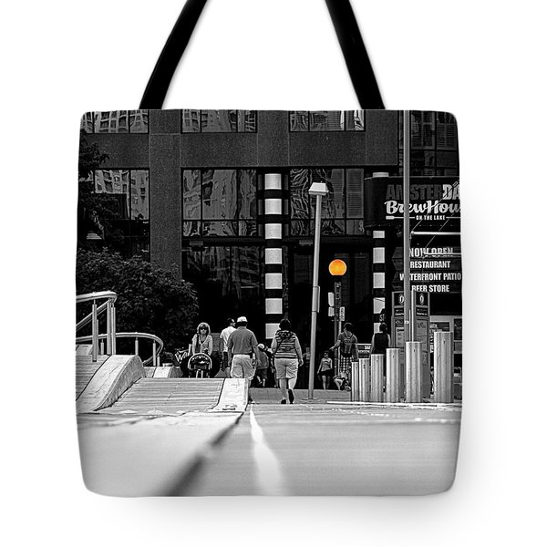 On The Boardwalk Tote Bag by Valentino Visentini