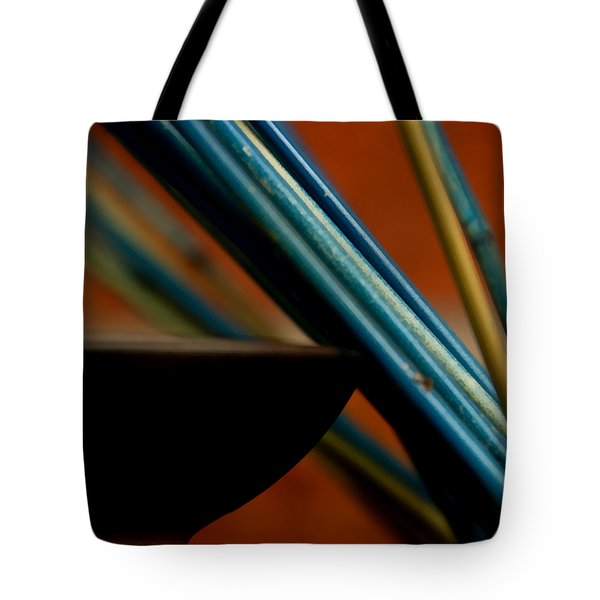 On The Edge Tote Bag by Angelina Vick