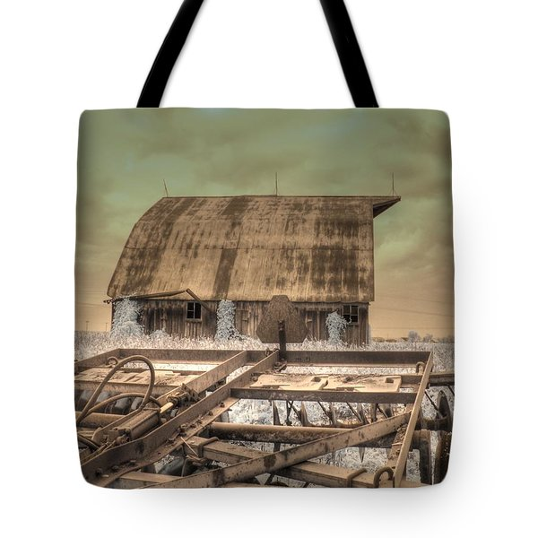 On The Farm Tote Bag by Jane Linders