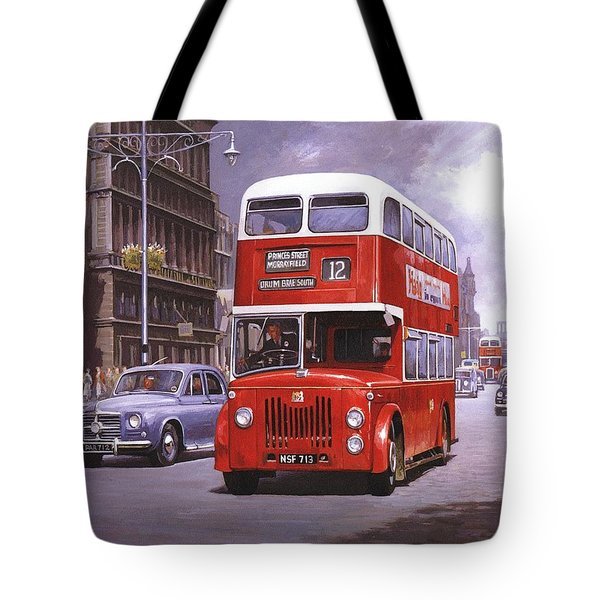On the Golden Mile Tote Bag by Mike  Jeffries