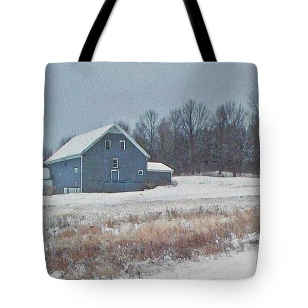 On The Hill Tote Bag by Joy Nichols