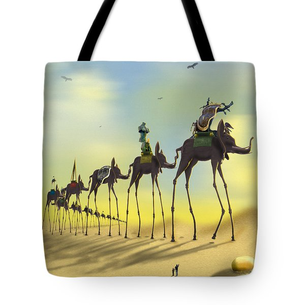 On The Move 2 Without Moon Tote Bag by Mike McGlothlen