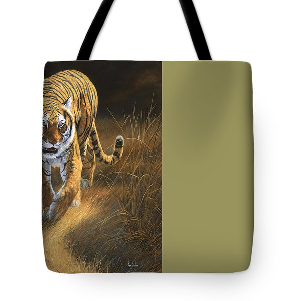 On The Move Tote Bag by Lucie Bilodeau