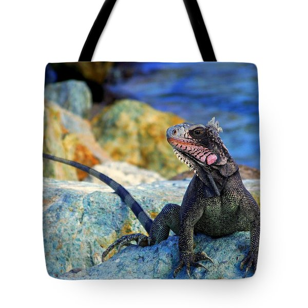 On The Prowl Tote Bag by Karen Wiles