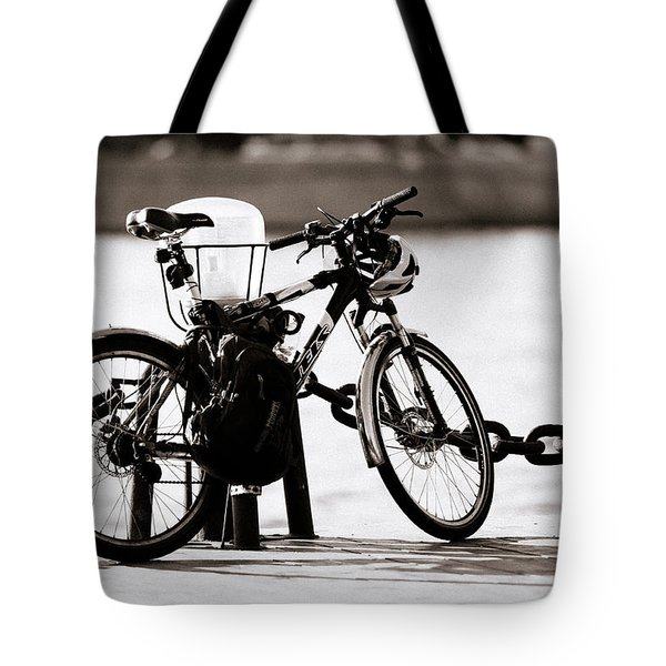 On The Quay - Featured 3 Tote Bag by Alexander Senin