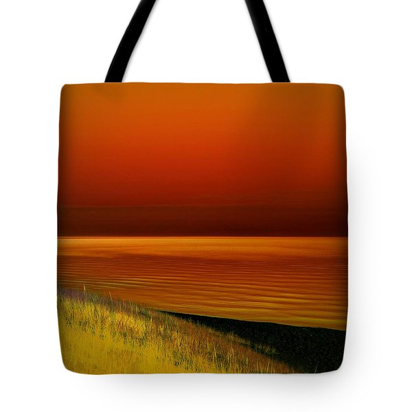 On The Shore Tote Bag by Michelle Calkins